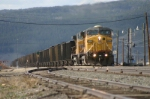 UP 6808 marches coal loads toward Moffat Tunnel