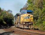 CSX 7859 leads a northbound