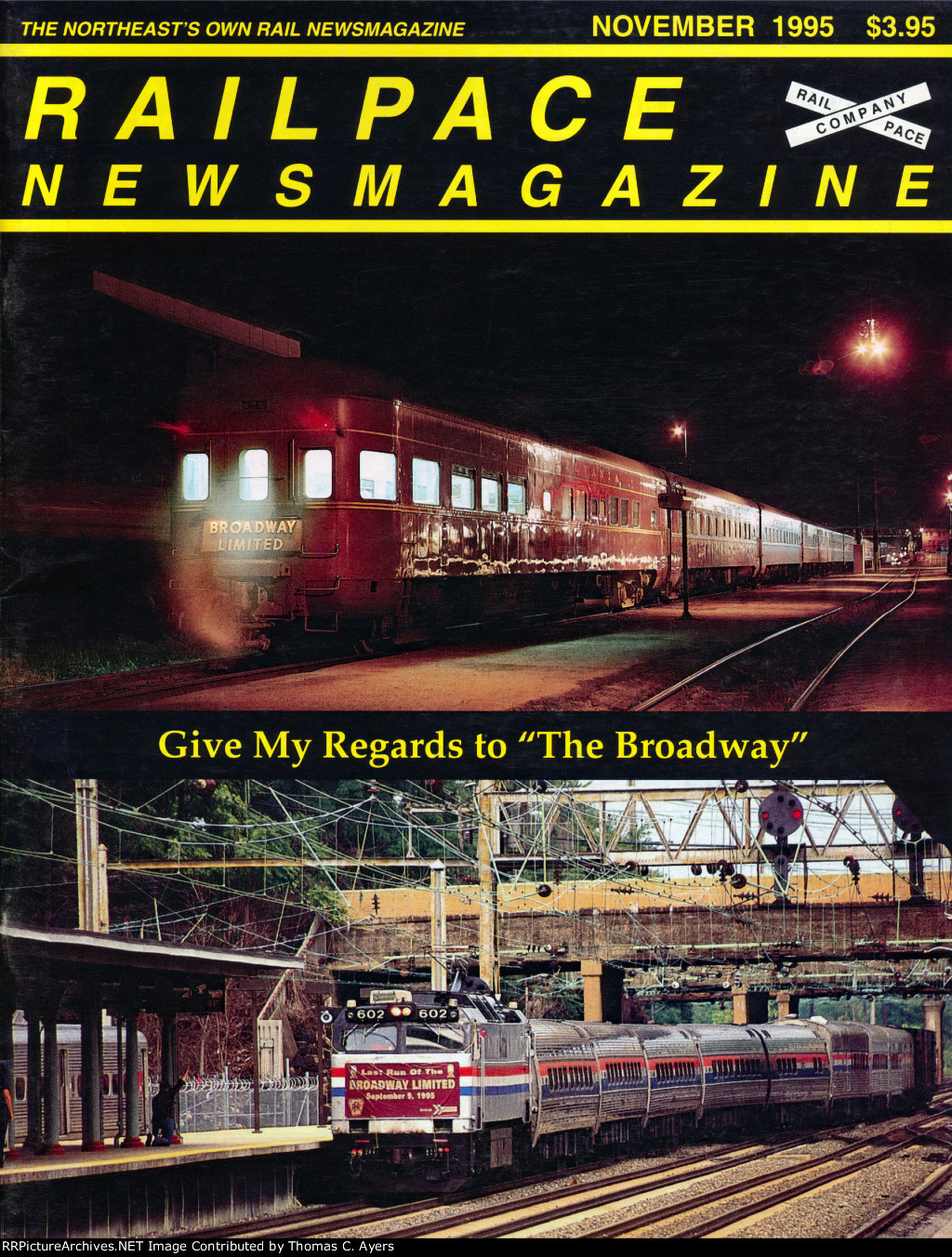 """""""Regards To 'The Broadway,'"""" Front Cover, 1995"""