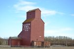 Saskatchewan Pool Elevator No 889 & CN 504409