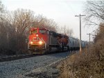 CN 8934 and BNSF 8323