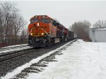 BNSF 3864 and CN 3060