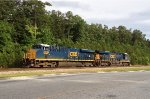 CSX ES44AC-H pair 3236 and 3112 wait patiently for Monday