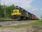 CSX 2724 & 6093 heading west with D708-26