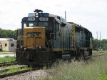CSX 2232 & 6489 heading back towards Wyoming Yard