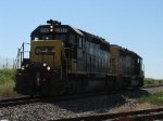 CSX 8337 and 8143 with K909