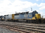 CSX 6402 and 2334