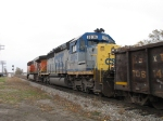 CSX 8036 following BNSF 7761