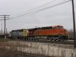 BNSF 7761 & CSX 8036