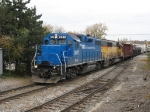 Z151, Marquette Rail, arrives in the daylight