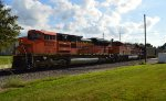 BNSF 8403 and 6358