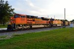 BNSF 8997 and 5604