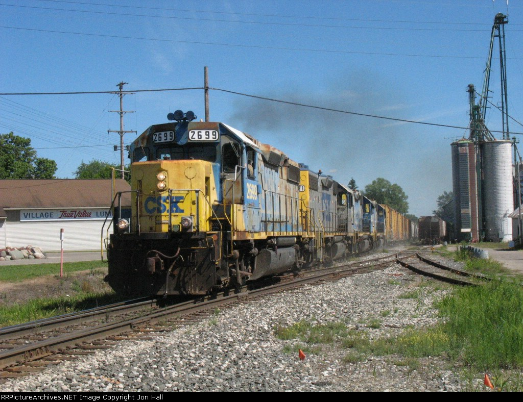 First time through town for D908