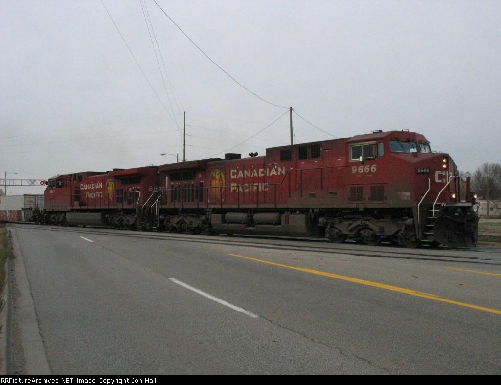 CP 9666 & 8507 leading X500