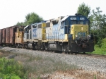 CSX 2622 & 2631 head east with D708-07