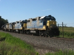 D908 heading back to the ethanol plant