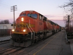 BNSF 8984 leading westward