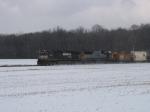 Q335 across the snowy fields