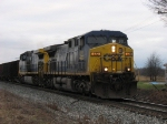 CSX 422 & 401 leading K351's coke empties east