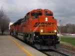 BNSF 9346 & 5851