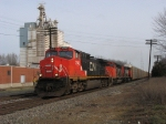 CN 2542 heading west with M397
