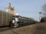 IC 100 & 101 leading CN's Santa Train