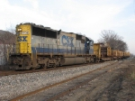 CSX 8706 with D007