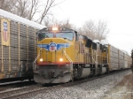 UP 4970 & 4541 heading eastward with E250