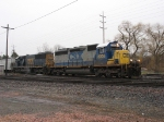 CSX 8305 & 8618 with Q327