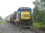 CSX 7551 waiting short of Haddix Rd with G845