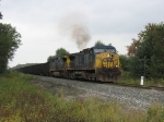 CSX 93 & 361 slowly rolling east with N904