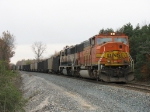 BNSF 9452 & 9804 heading west out of Wells with E949