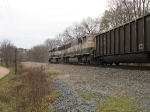 BNSF 9812 & 9635 pushing up the hill