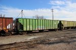 BNSF Green FMC Covered Hopper