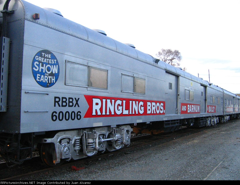 Circus Train Baggage car