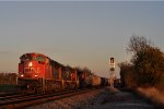 CN 8890 On NS 142 Westbound ( Last Light )