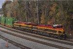 KCS 4592 On NS 224 Eastbound