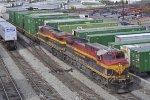 KCS 4592 In The Yard At Inman