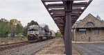 NS 3672 EB through Wernersville with stacks