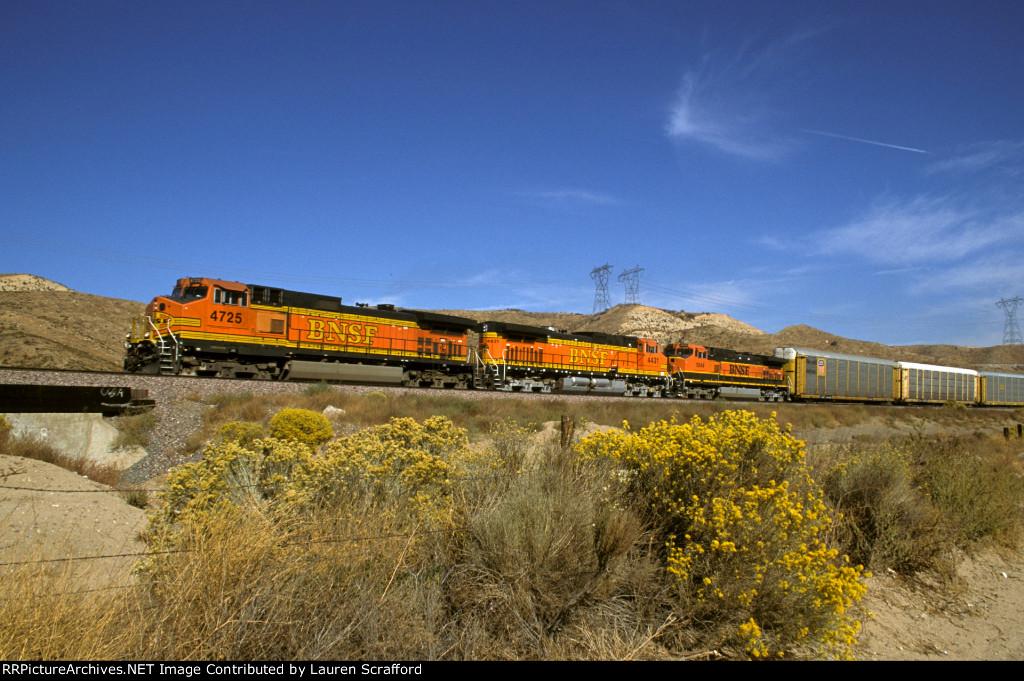 BNSF 4725 South