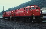 M&E Alcos at Port Jervis