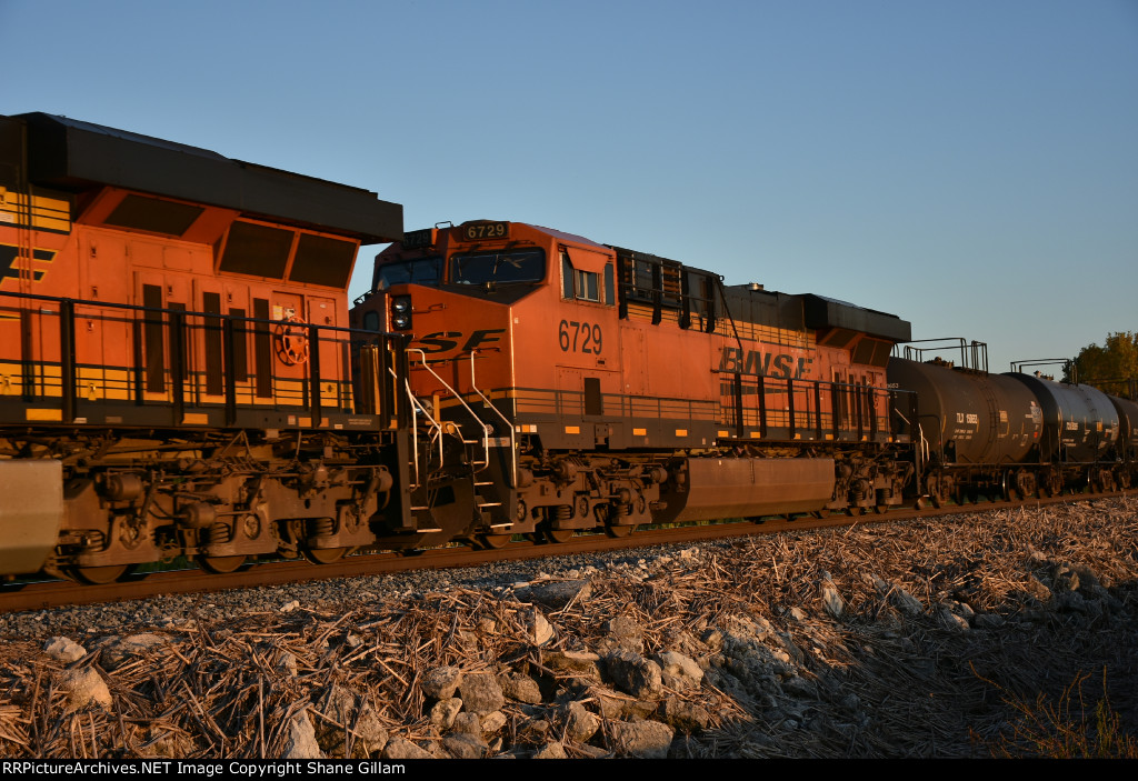 BNSF 6729 Roster.