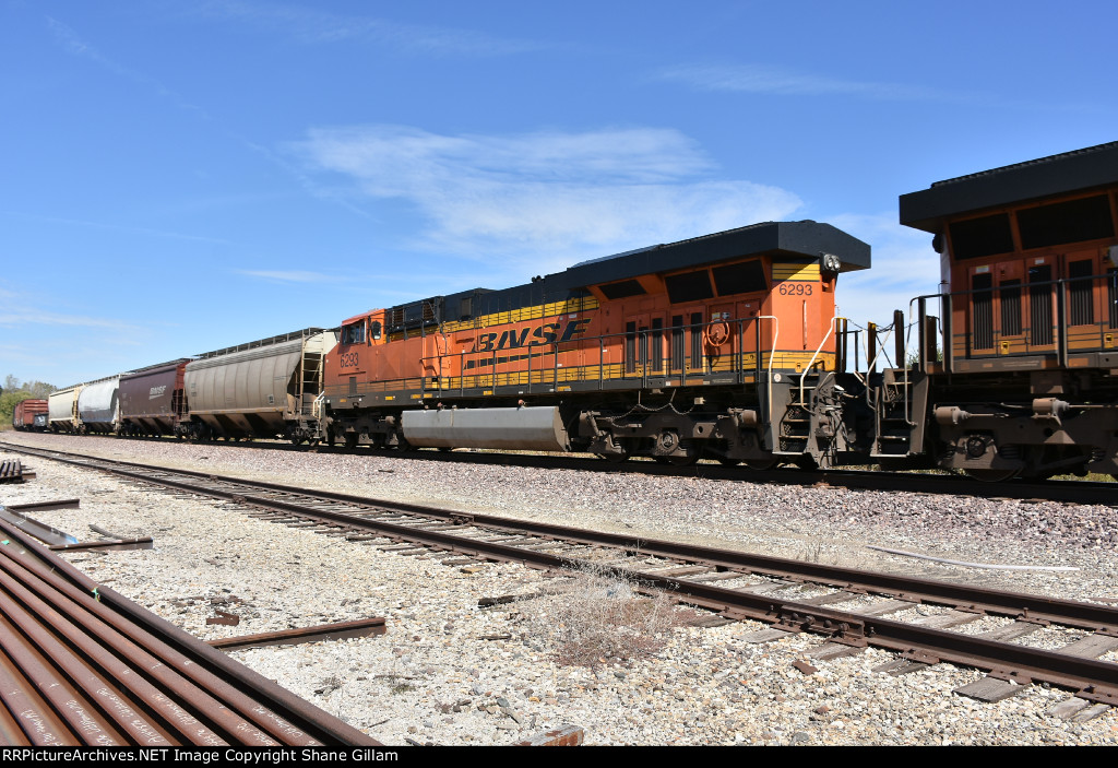 BNSF 6293 Roster.