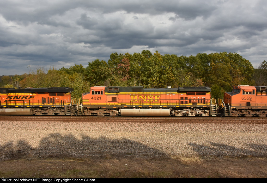 BNSF 4321 Roster.