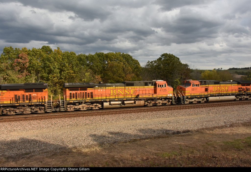 BNSF 4125 Roster.