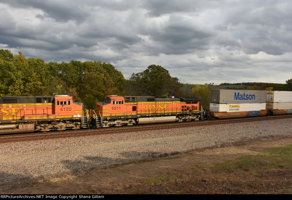 BNSF 5511 Roster.