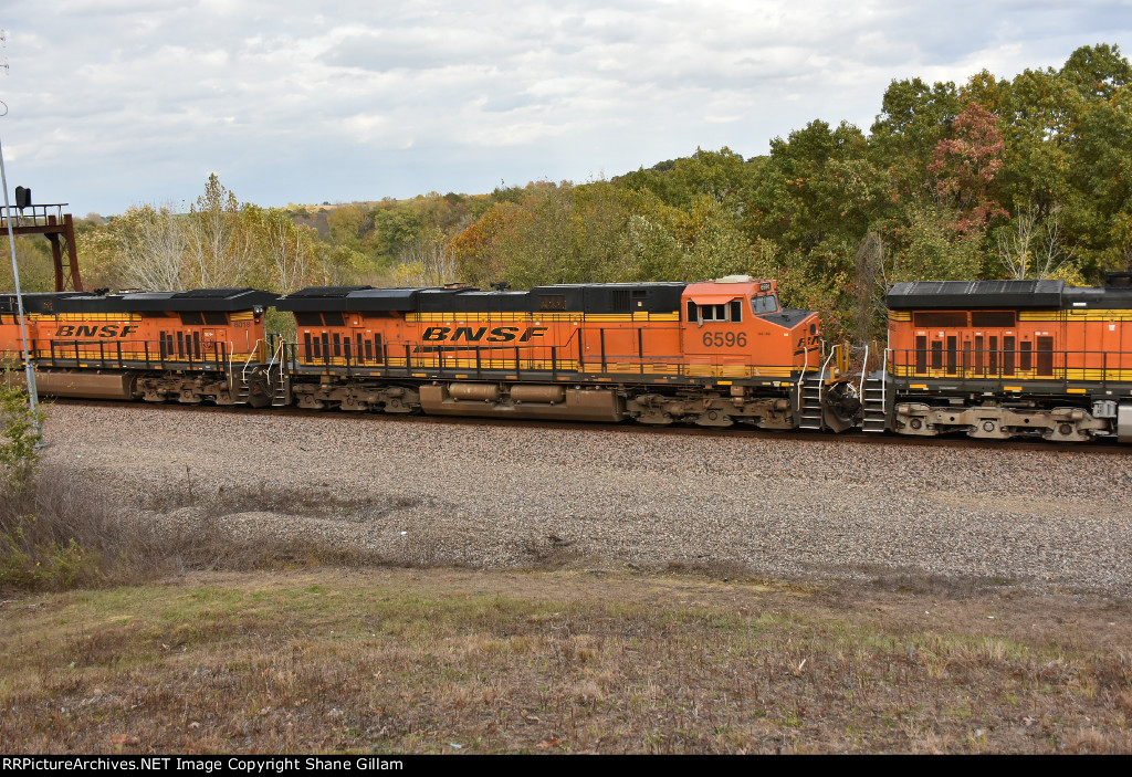BNSF 6596 Roster.