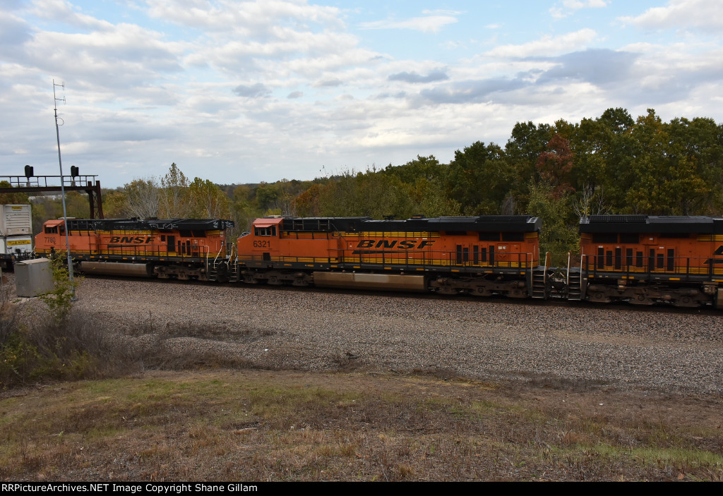 BNSF 6321 Roster.