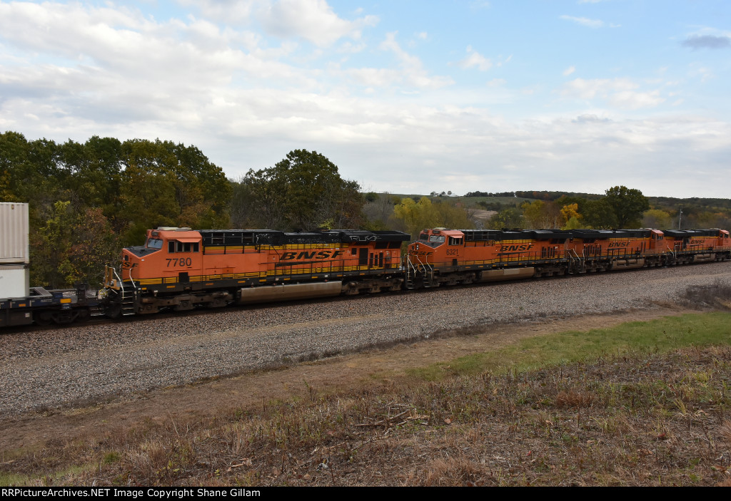 BNSF 7780 Roster.