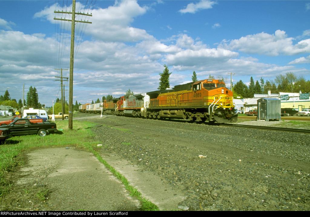 BNSF 4869 West